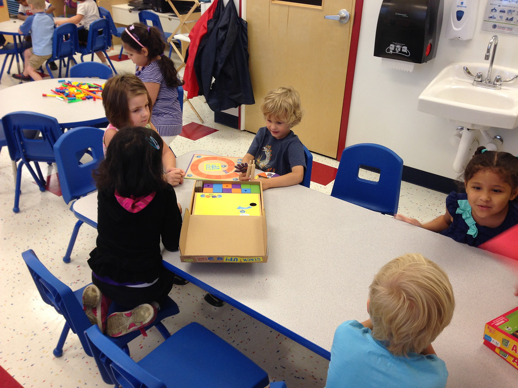 . Children from infants to six years old will play with interactive toys from September 30th through October 5th while teachers observe and document how the toy rates among the selection criteria.
